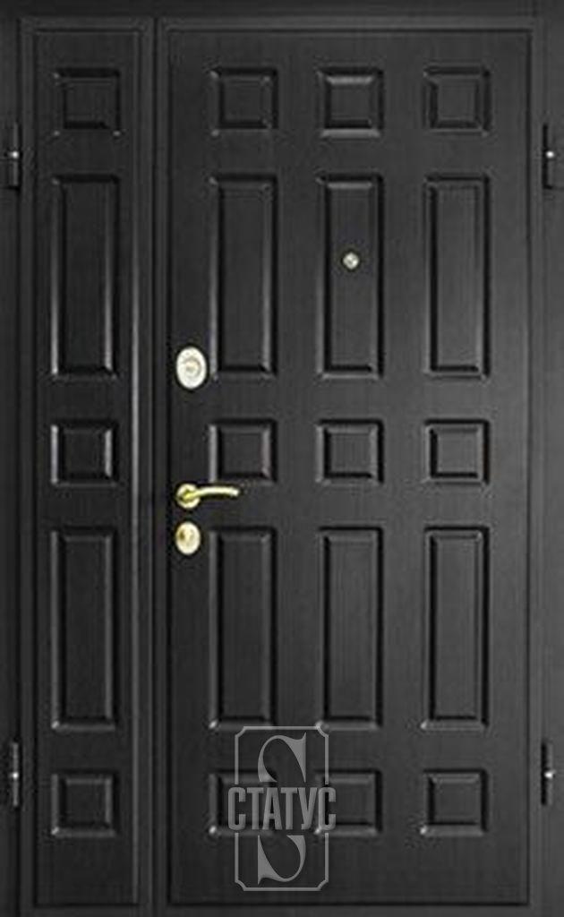 двери легкие металлические двойные